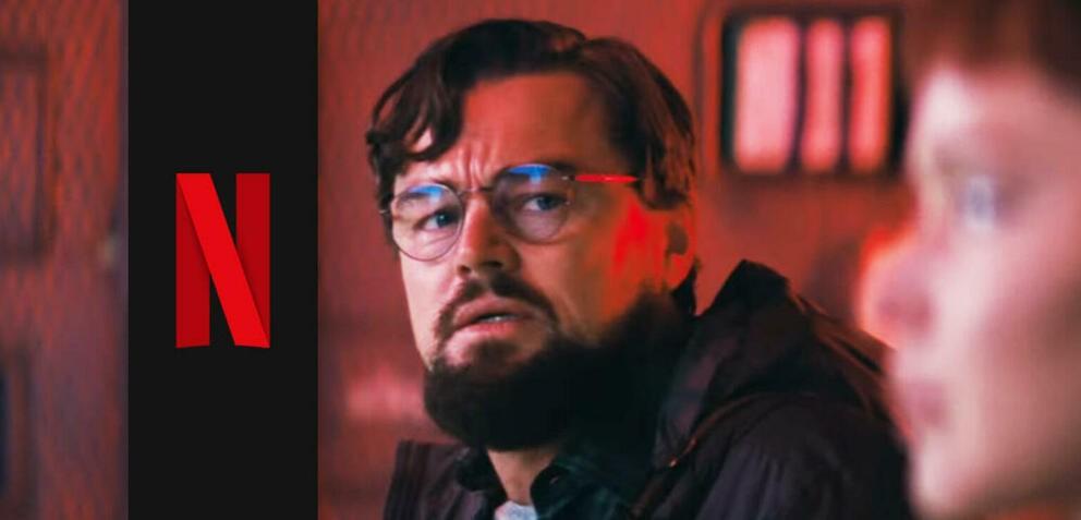 """Nowy klip do filmu """"Nie patrz w górę"""", w którym Leonardo DiCaprio i Jennifer Lawrence próbują uratować świat"""