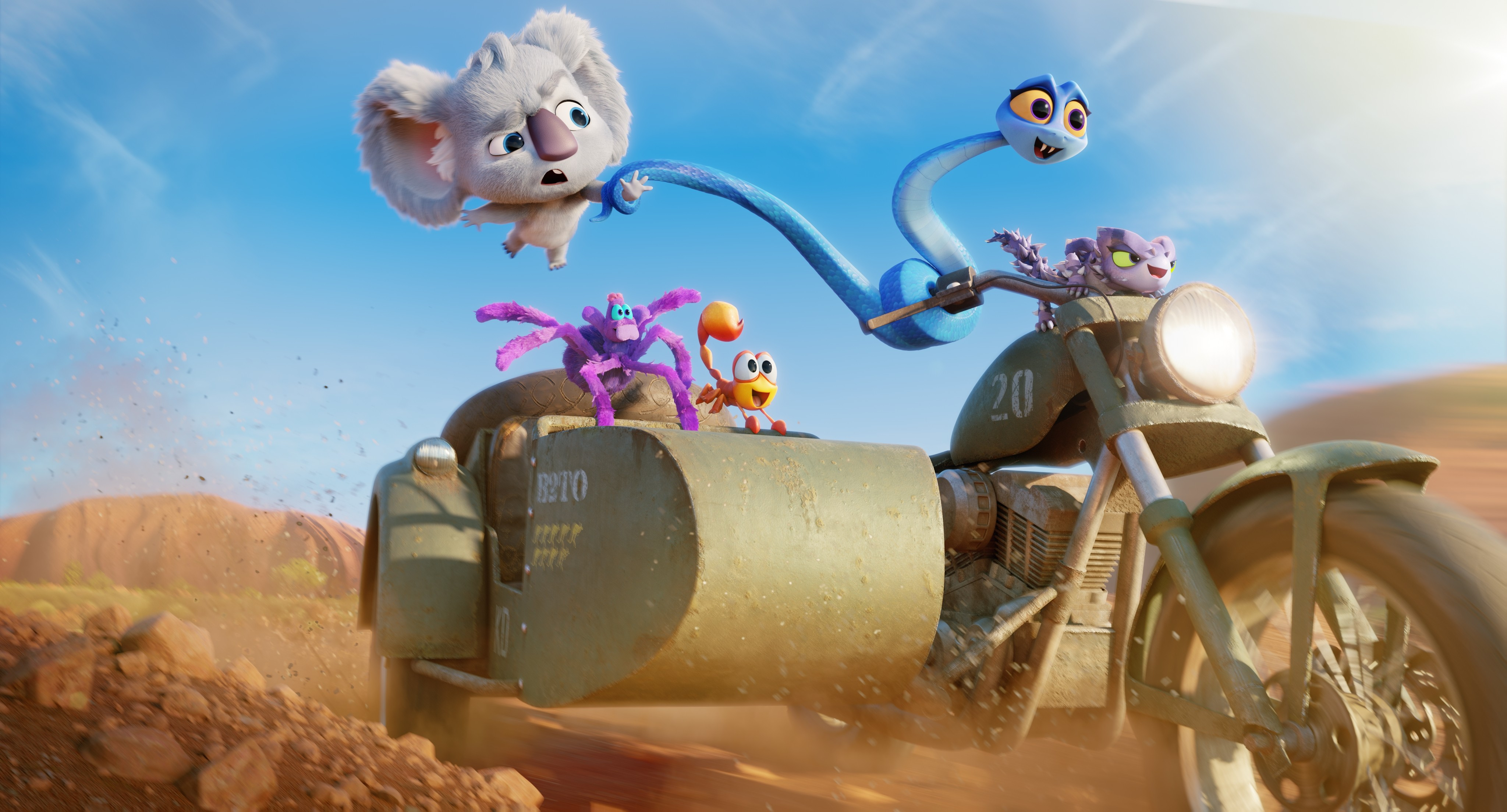 "Zwiastun nowego filmu animowanego Netflixa ""Dzika ekipa"""